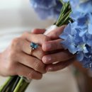 Blue Flowers, Denver Weddings, Colorado Weddings