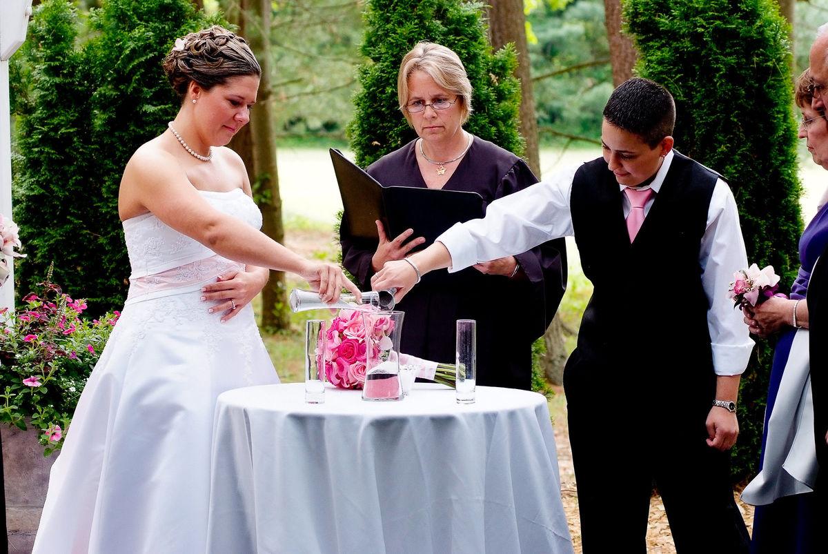 a unique wedding by darlene officiant portland ct