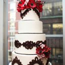 130x130 sq 1362669257361 sugarflowercakeshopredanemonechocolatecake