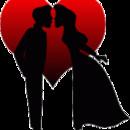 130x130 sq 1374620577619 romance couplekissingheart