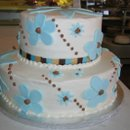 130x130 sq 1222546433698 blueandchocolateflowers