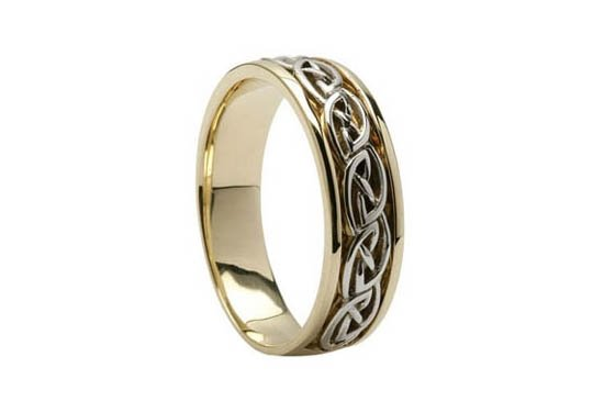 photo 4 of Unique Celtic Wedding Rings