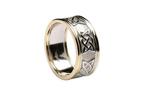 photo 7 of Unique Celtic Wedding Rings