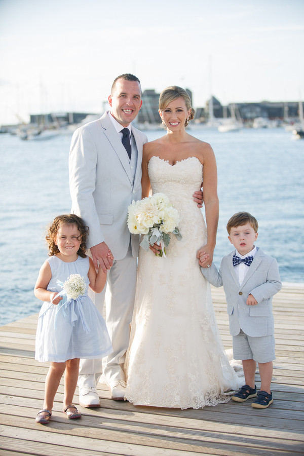 Nautical Rhode Island Wedding, Wedding Real Weddings Gallery by ...