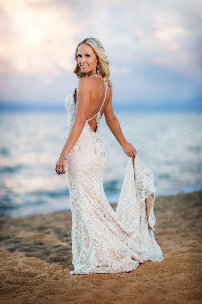 Elegant Lake Tahoe Wedding , Wedding Real Weddings Gallery by ...