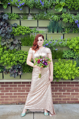 Playful Michigan Greenhouse Wedding Wedding Real Weddings