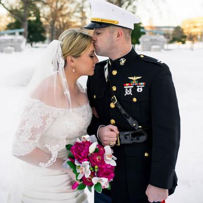 fuchsia and navy maryland wedding wedding real weddings