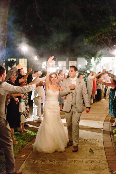 Beach Beach Fall Hawaii Send-Off Ideas Sparklers Wedding Favors ...
