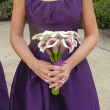 220x220 sq 1452741207737 dscn8138bridesmaid with bouquet cropped