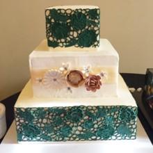 Cake Aholics Bakery Wedding Cake Arlington Tx