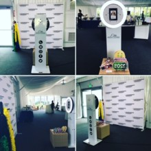 220x220 sq 1509410042190 elite selfie station with step and repeat backdrop