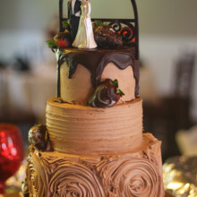 220x220 sq 1453314806708 chocolate wedding cake 2 capo