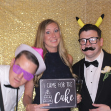 220x220 sq 1498162243935 came for the cake photo booth