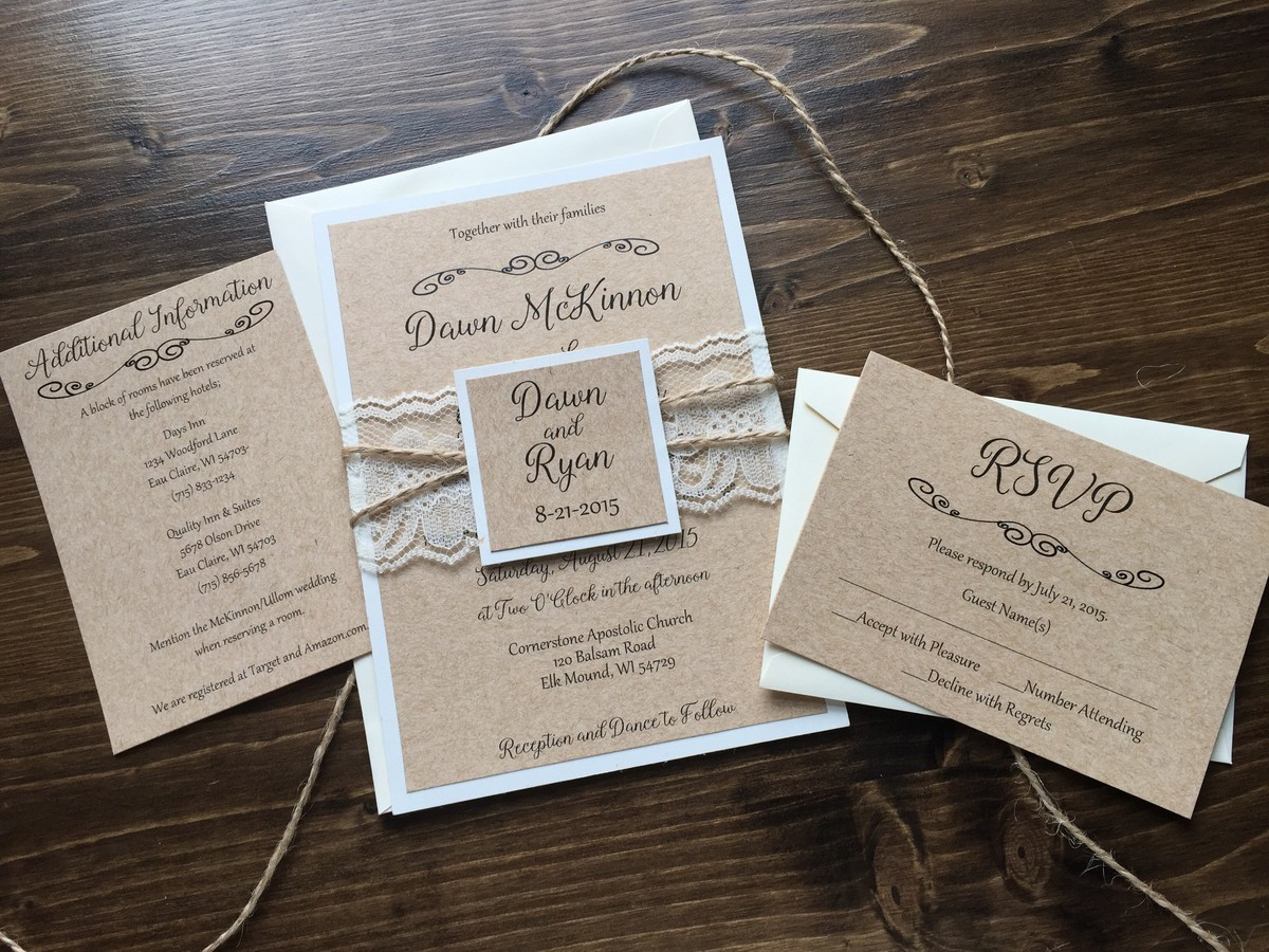 Dawn Marie Creations Invitations Eau Claire Wi