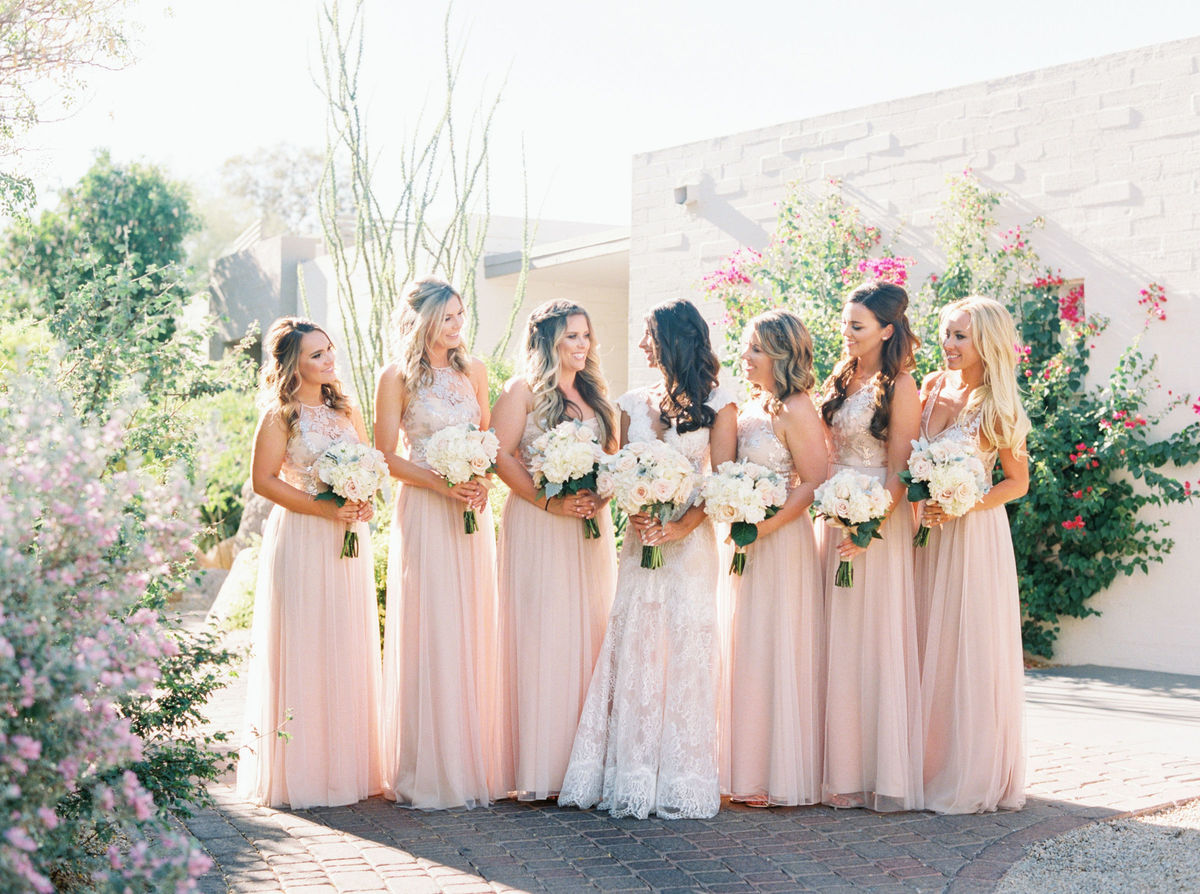 Bella bridesmaids dress attire scottsdale az weddingwire ombrellifo Images