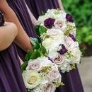 130x130 sq 1531340516 d03a741cf19653a2 bridesmaids bouquets in purple and lavender