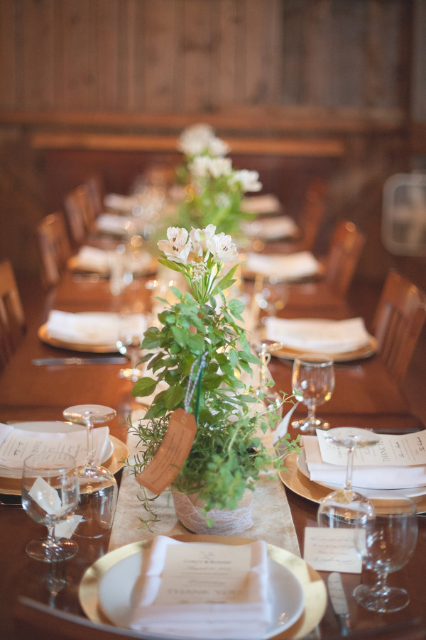 Boho Chic Rustic Vintage Barn Centerpiece Summer Vermont Wedding Flowers Photos Pictures