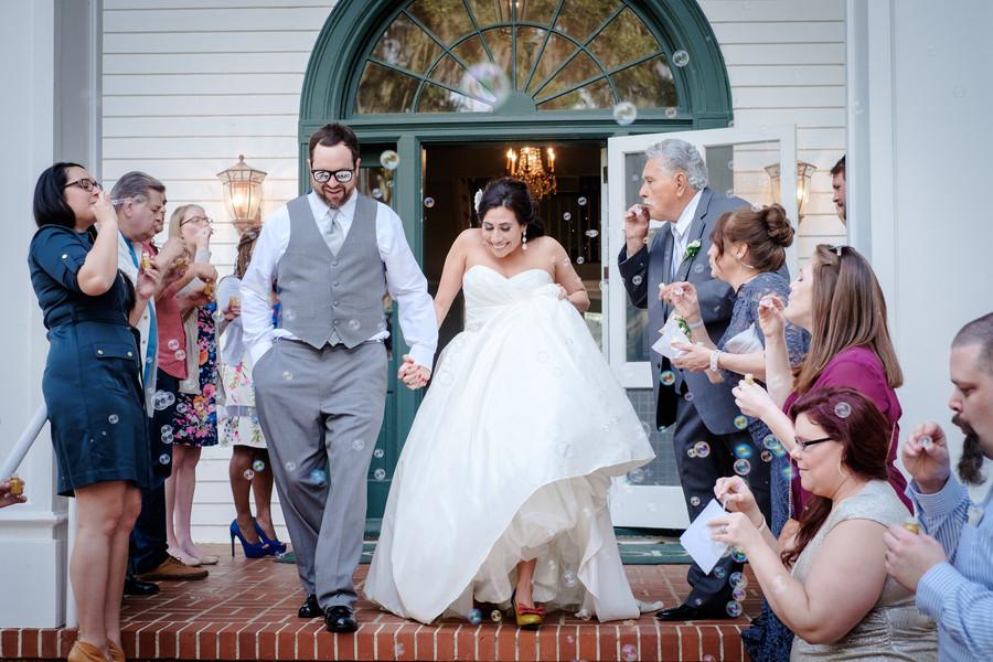 bubbles florida garden historic site send off ideas winter wedding