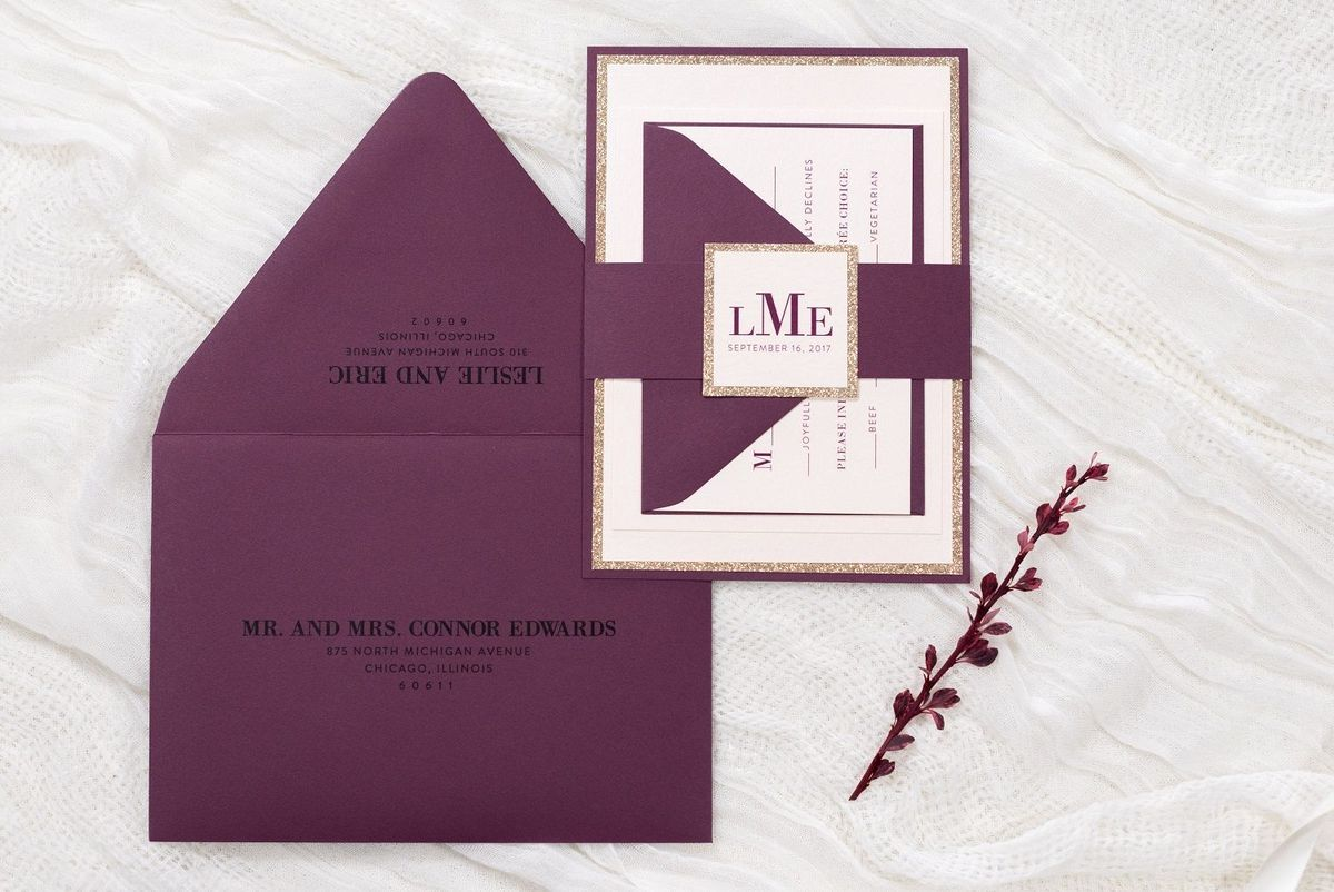 second city stationery wedding invitations illinois chicago