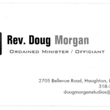 Rev doug morgan officiant bossier city la weddingwire 220x220 sq 1466787378045 doug business card colourmoves