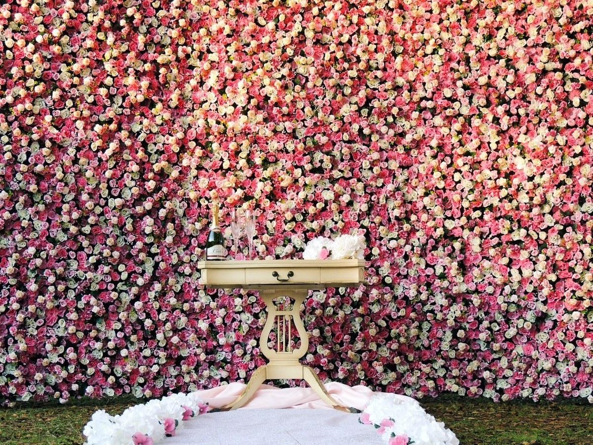 Flower Wall Rental Event Rentals Rancho Cordova Ca
