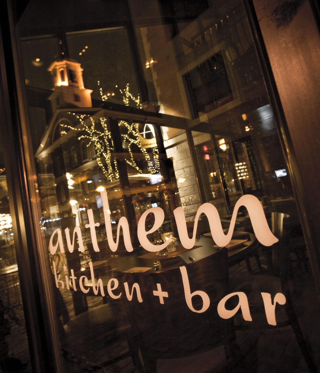 Anthem Kitchen And Bar Boston Ma