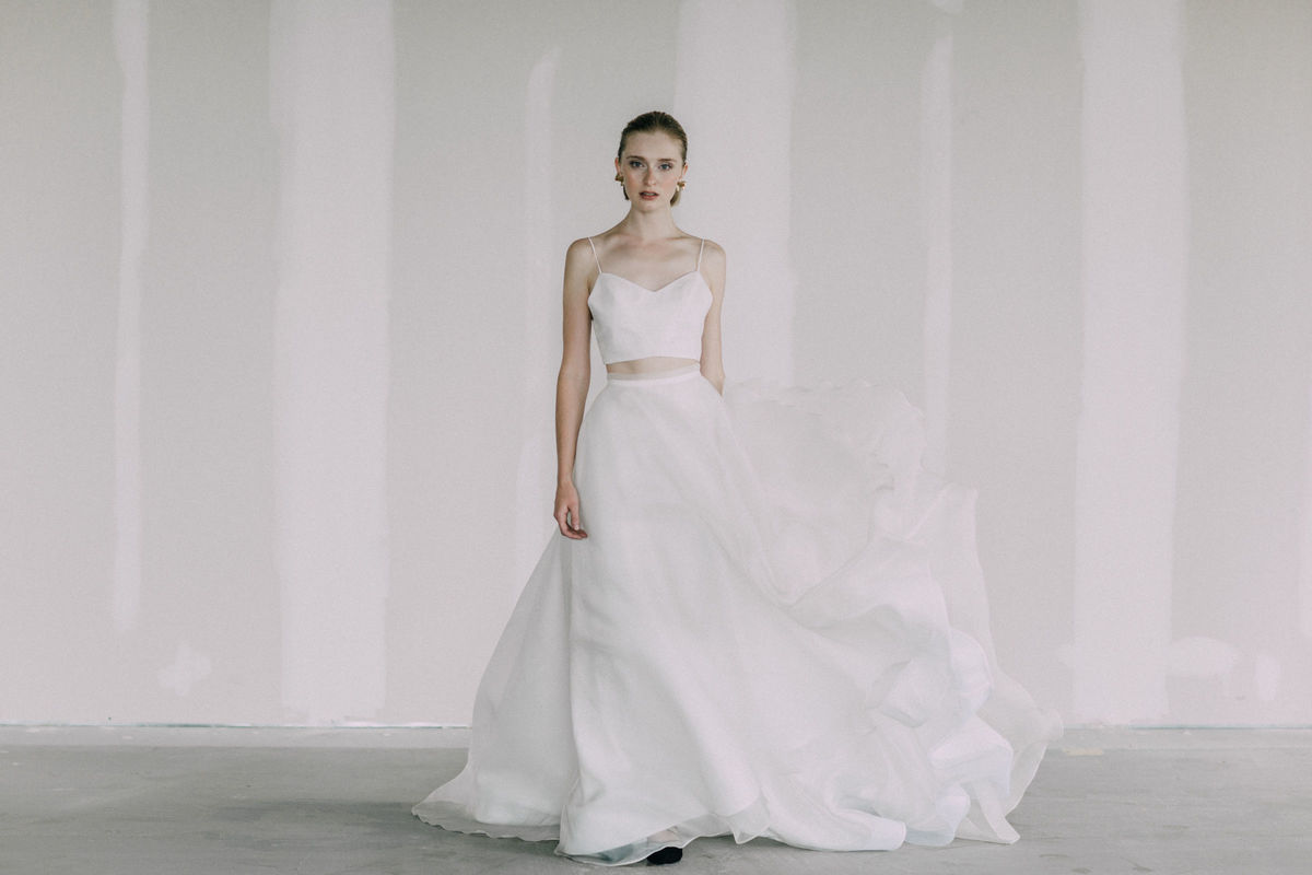 The newhite dress attire los angeles ca weddingwire for Rent wedding dress orange county