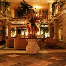 Atrium hotel irvine wedding