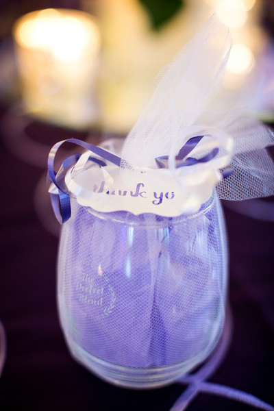 Classic Purple Ballroom Canada Fall Personalized Wedding Favors ...