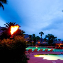 Caliente Tropics Resort Venue Palm Springs Ca