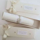 130x130 sq 1458176157 ce6115ea78722100 pearl ivory wedding invitation scroll