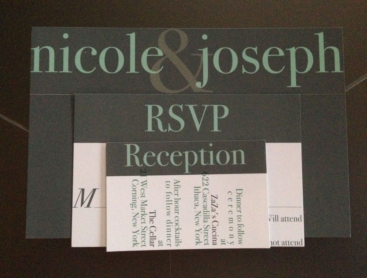 Syracuse wedding invitations reviews for 18 invitations crafting cottage custom designs reheart Choice Image