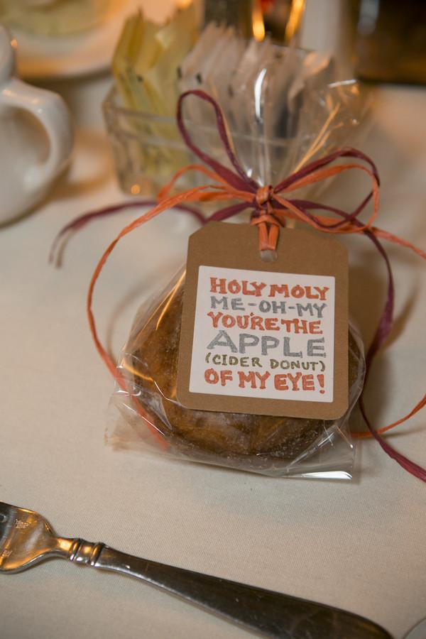 Informal Rustic Edible Fall New Jersey Tags Wedding Favors Photos