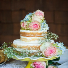 "<strong class='info-row'>lisa d. Photography</strong> <div class='info-row description'><html>  <head></head>  <body>    After dinner concluded, a two-tiered naked cake topped with fresh flowers was cut and served   Venue:   <a href=""https://www.weddingwire.com/reviews/whispering-tree-ranch/538664c81ed617fd.html"" target=""_blank""> Whispering Tree Ranch </a>       <div>         </div>   </body> </html></div>"