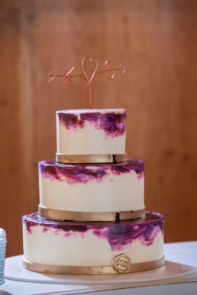 Boho Chic Informal Rustic Gold Purple Barn Summer Washington Wedding ...