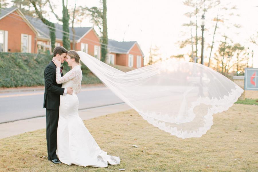 Chic Birmingham Winter Wedding Real Weddings Gallery By WeddingWire 48