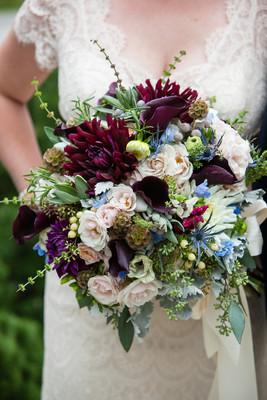 Romantic Fall Backyard Wedding. Alison U0026 Benjamin