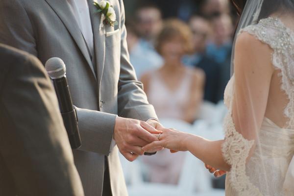 Romantic Maryland Outdoor Ceremony Wedding Ceremony Photos ...