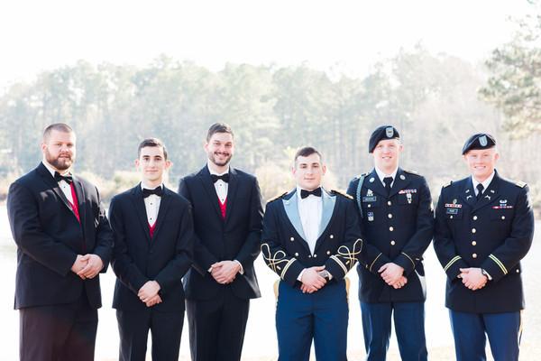 Elegant South Carolina Army Wedding, Wedding Real Weddings Gallery ...