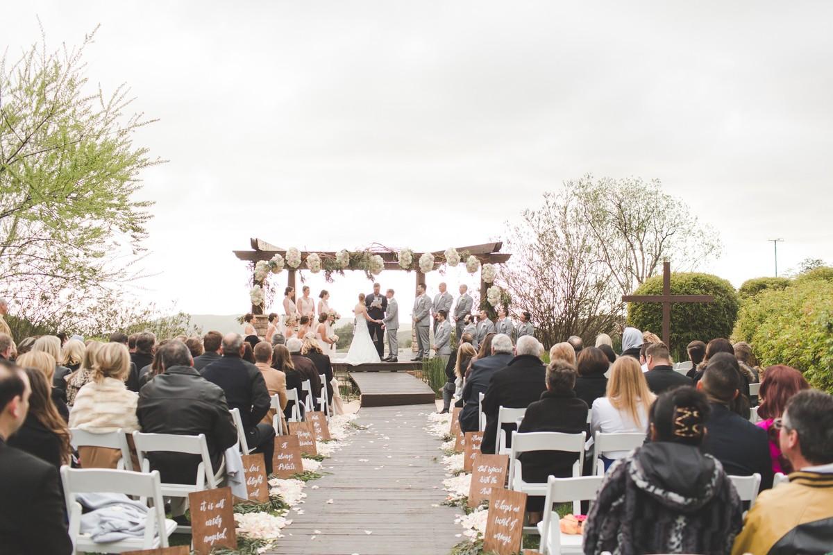 Cheerful California Garden Wedding , Wedding Real Weddings Gallery ...