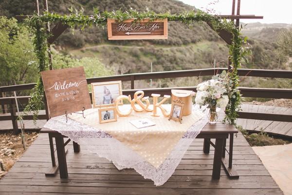 Cheerful California Garden Wedding Real Wedding Photos by Abbey