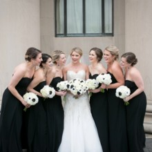 """<strong class='info-row'>Pond Photography</strong> <div class='info-row description'><html>  <head></head>  <body>    The bridesmaids looked elegant in strapless black floor-length gowns.     <span class=""""s1"""">Event Planner: <a href=""""https://www.weddingwire.com/biz/madison-sanders-events-liberty/bfd7956686c7ed3d.html""""><span class=""""s2"""">Madison Sanders Events</span></a></span>  Bridesmaid Dresses:    <a href=""""https://www.weddingwire.com/biz/bella-bridesmaids-kansas-city-leawood/fc3127e380997c7c.html""""><span class=""""s2"""">Bella Bridesmaids - Kansas City</span></a>  Flowers:    <a href=""""https://www.weddingwire.com/biz/good-earth-floral-design-studio-overland-park/f0497b6bc386f384.html""""><span class=""""s2"""">Good Earth Floral Design Studio</span></a>   </body> </html></div>"""