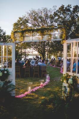 Vintage Arkansas Lakeside Wedding Wedding Real Weddings