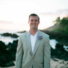 "<strong class='info-row'>Joanna Tano Photography</strong> <div class='info-row description'><html>  <head></head>  <body>    Matt looked handsome in a khaki-colored suit paired with a simple white button-down shirt.   Venue: White Orchid Beach House from    <a href=""https://www.weddingwire.com/biz/a-white-orchid-wedding-inc-wailuku/613a4afe72f6cb8d.html"" target=""_blank"">A White Orchid Wedding, Inc.</a>  Floral Design:    <a href=""https://www.weddingwire.com/reviews/teresa-sena-designs-kula/e68fec6403a0ee30.html"" target=""_blank"">Teresa Sena Designs</a>   </body> </html></div>"