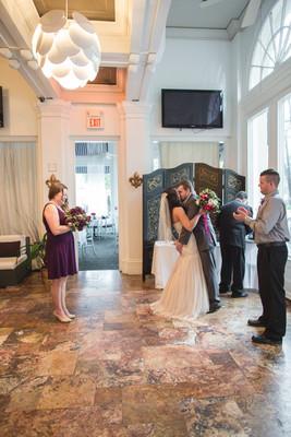 Intimate New Orleans Hotel Wedding Wedding Real Weddings