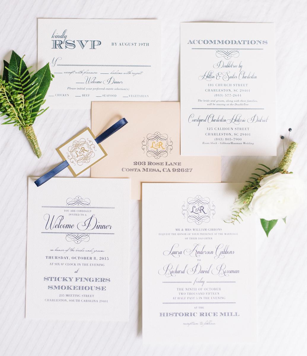 Elegant Charleston Fall Wedding, Wedding Real Weddings Gallery by ...