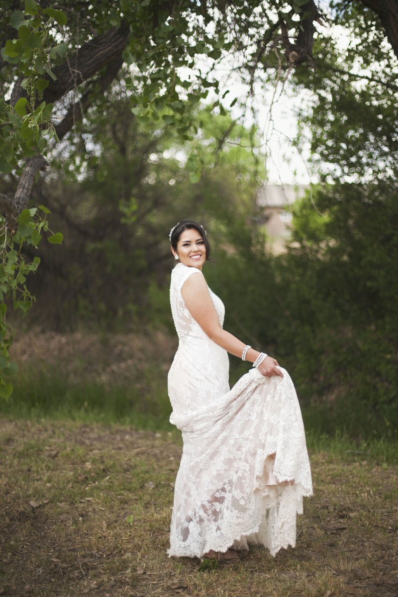 scenic new mexico ranch wedding, wedding real weddings gallery by