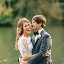 """<strong class='info-row'>Erin Morrison Photography</strong> <div class='info-row description'><html>  <head></head>  <body>    Kathryn and Hunter were married at Tuckaway Cove in Greenback, Tennessee on October 17.  Venue: Tuckaway Cove  Bride's Gown:    <a href=""""https://www.weddingwire.com/reviews/sarah-seven-san-francisco/a18db1e5e4af988f.html"""" target=""""_blank"""">Sarah Seven</a> from    <a href=""""https://www.weddingwire.com/biz/the-dress-theory-seattle/eacb4ac349379587.html"""" target=""""_blank"""">The Dress Theory</a>  Floral Design: Kroger  Catering: From Scratch Foods  Cake: Publix Bakery   </body> </html></div>"""
