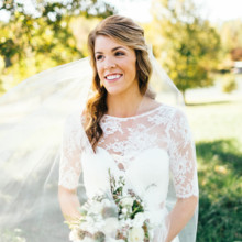 """<strong class='info-row'>Erin Morrison Photography</strong> <div class='info-row description'><html>  <head></head>  <body>    Kathryn finished her bridal look with subtle, glowy makeup.  Venue: Tuckaway Cove  Bride's Gown:   <a href=""""https://www.weddingwire.com/reviews/sarah-seven-san-francisco/a18db1e5e4af988f.html"""" target=""""_blank"""">Sarah Seven</a>from   <a href=""""https://www.weddingwire.com/biz/the-dress-theory-seattle/eacb4ac349379587.html"""" target=""""_blank"""">The Dress Theory</a>  Floral Design: Kroger   </body> </html></div>"""