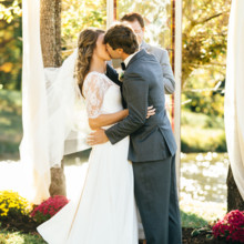 """<strong class='info-row'>Erin Morrison Photography</strong> <div class='info-row description'><html>  <head></head>  <body>    Officially husband and wife!  Venue: Tuckaway Cove  Bride's Gown:   <a href=""""https://www.weddingwire.com/reviews/sarah-seven-san-francisco/a18db1e5e4af988f.html"""" target=""""_blank"""">Sarah Seven</a>from   <a href=""""https://www.weddingwire.com/biz/the-dress-theory-seattle/eacb4ac349379587.html"""" target=""""_blank"""">The Dress Theory</a>   </body> </html></div>"""